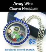 ARMY WIFE CHARM NECKLACES in Fort Benning, Georgia
