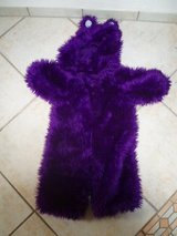 purple teddy bear costume size 2-3 Halloween in Stuttgart, GE