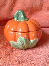Ceramic Pumpkin Candle Holder in Spring, Texas