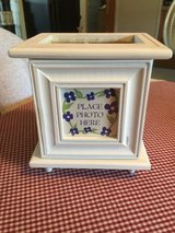 Planter Holder w/Picture in Yorkville, Illinois