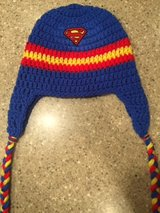 Superman Crochet Hat in Fort Campbell, Kentucky