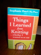 """Knitting Book """"Things I Learned from Knitting ...whether I wanted to or not"""" in Travis AFB, California"""