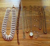 Vintage Necklaces, Belts, Lucerne Watch in Chicago, Illinois