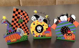Decorated BOO Letters – Hand Painted in Plainfield, Illinois