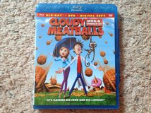 Cloudy with a chance of Meatballs BluRay in Camp Lejeune, North Carolina
