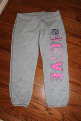 ***BRAND NEW***Ladies ADORABLE LSU Capri Sweat Pants***SZ S in Sugar Land, Texas