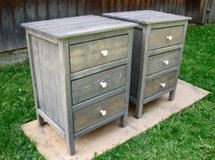 Wood end table side bed night stand in Camp Lejeune, North Carolina