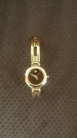 Movado Gold Woman's Watch in Chicago, Illinois