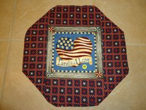 "New 17"" Handmade Patriotic Table Topper/Mat 1 in Byron, Georgia"