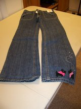 Girls Size 9 Jeans with Scotties on pant leg from Gymboree in Elgin, Illinois