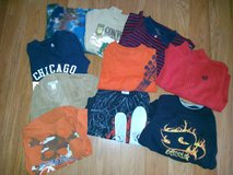 Cute10 PC Size 5/6  Boys Shirts Lot 31 in Glendale Heights, Illinois