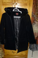 Black Velour Coat in Naperville, Illinois