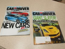 "New ""Car And Driver"" Magazines -- September & October Issues in Kingwood, Texas"