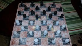 14 in. Marble Chess Board Set in Clarksville, Tennessee