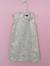 Baby Gap Girl Dress Silver 5t in Bolingbrook, Illinois