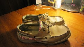 Sperry Bluefish boat shoes.  Fits 7 - 7.5 in Joliet, Illinois