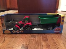 NIB Bruder Tractor with Trailer in Bolingbrook, Illinois