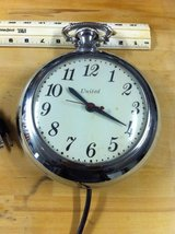 Original pocket watch wall Clock from United in Ramstein, Germany