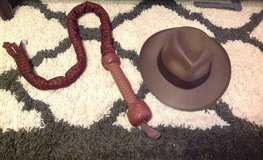 Indiana Jones Hat and Sound Fx Whip Set in Fort Benning, Georgia