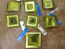"""NWT """"LIME GREEN"""" 3D LARGE PLASTIC ORNAMENTS in Camp Lejeune, North Carolina"""