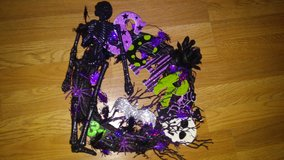 Halloween Skeleton wreath in The Woodlands, Texas