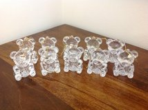 "CLEAR ""CHRISTMAS BEARS"" ORNAMENTS in Camp Lejeune, North Carolina"