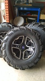 Polaris ranger rims and tires new in Naperville, Illinois