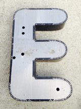 large vintage salvaged letter E in Westmont, Illinois