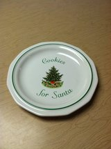 COOKIES for SANTA PLATE in St. Charles, Illinois
