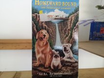 Homeward Bound VHS tape in Naperville, Illinois