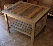 Wood coffee table pallet wood shelf in Camp Lejeune, North Carolina
