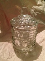 Cut Glass Crystal Jar/Lid in Spring, Texas