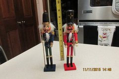 Wooden Nutcracker Figures - 9-Inches Tall in Kingwood, Texas