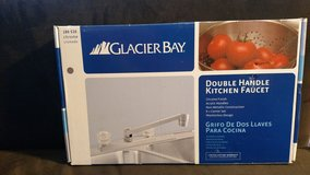 Glacier Bay 2-Handle Non Metallic Kitchen Faucet (Chrome) (T=15) in Fort Campbell, Kentucky