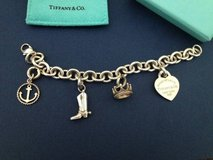 Tiffany charm bracelet & locket in Fairfield, California