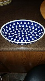 Oval Polish Pottery Serving Bowl in Fort Campbell, Kentucky