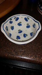 Berry Pattern Polish Pottery Bowl in Fort Campbell, Kentucky