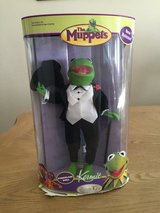 Kermit Porcelain Doll from the Muppets in Fort Bliss, Texas