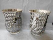 Bling Mosiac Candle Holder in Spring, Texas