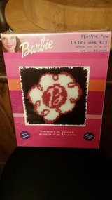 New / Barbie Flower Fun Latch Hook Kit in Clarksville, Tennessee