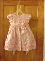 Light Pink Flower Dress (2T) Bonnie Jean LIKE NEW in Beaufort, South Carolina