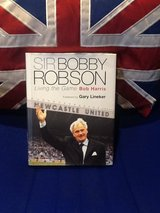 Autographed- Bobby Robson Living the Game in Lakenheath, UK