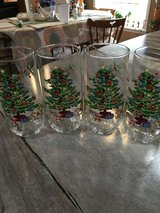 4 Christmas Tree Glasses in Fort Campbell, Kentucky