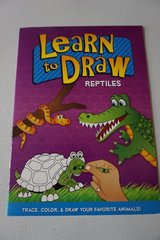 Learn To Draw Reptiles Activity Book in Joliet, Illinois