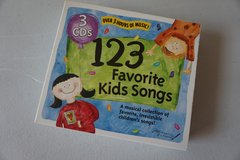 123 Favorite Kids Songs 3 CDs in Chicago, Illinois