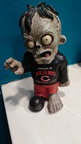NFL Bears Zombie Statue in St. Charles, Illinois