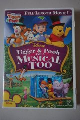 Disney Tigger & Pooh and a Musical Too DVD Movie in Chicago, Illinois