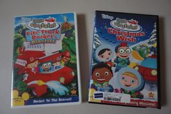 Disney Little Einsteins 2 pack DVD Movies in Chicago, Illinois