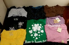 Set of 8 Short and Long Sleeve Size Small in Westmont, Illinois