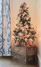 Wood Christmas tree stand xmas crate in Camp Lejeune, North Carolina
